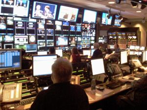 This is actually what it looks like where Jarrett works at NBC.